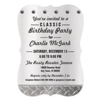Custom Made Classic Birthday Party Invitation