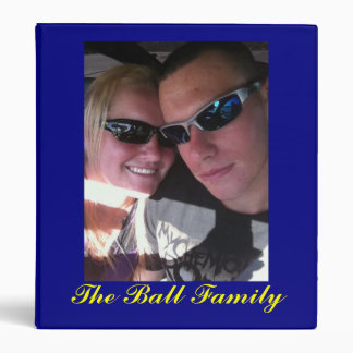 Custom made for Brittany Ball 3 Ring Binder
