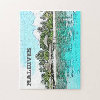 Custom Maldives Puzzle