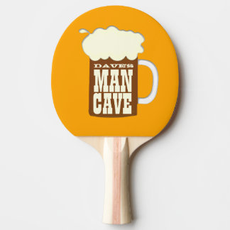 Custom Man Cave Ping Pong Paddle