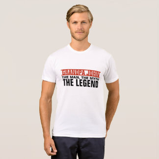 Custom Man, The Myth, The Legend T-Shirt