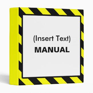 Custom Manual Binder