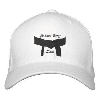 Custom Martial Arts Black Belt Club Embroidered Hat