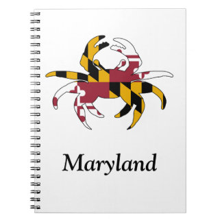 Custom Maryland Crab Notebook
