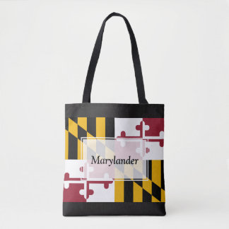 Custom Marylander Tote Bag