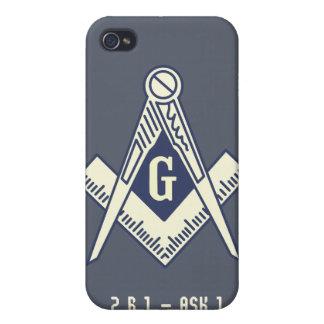 Custom Masonic Blue Lodge iPhone Case iPhone 4 Cover
