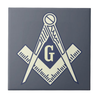 Custom Masonic Blue Lodge Wall Tile