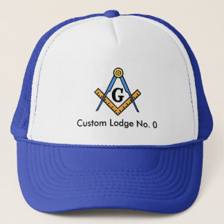 Custom Masonic Lodge Hat