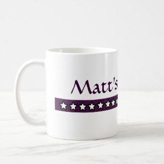 Custom Matt Coffee Coffee Mug