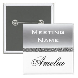 Custom meeting name button