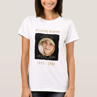 Custom Memorial Add Photo | In Loving Memory T-Shirt