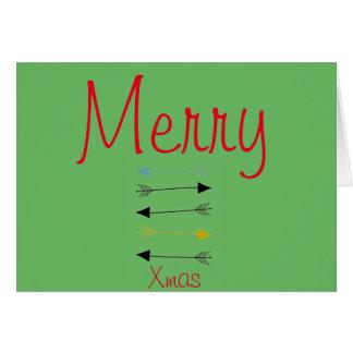 Custom Merry Christmas Greeting Card