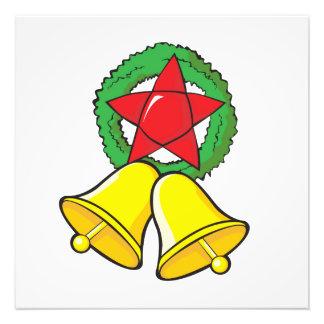 Custom Merry Christmas Star Lantern Gift Wrappers Photo Art