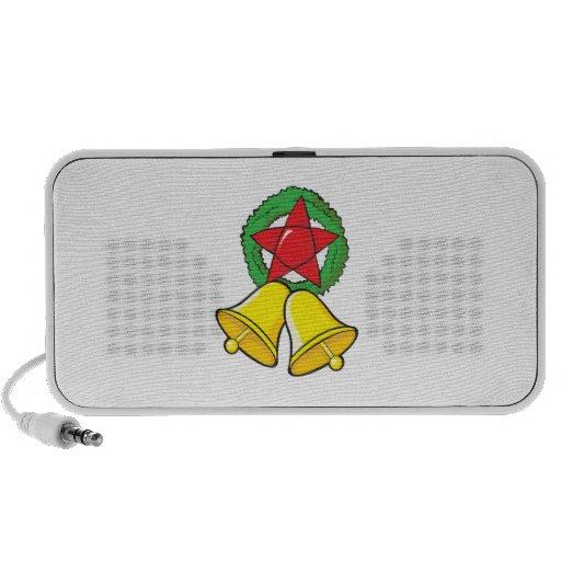 Custom Merry Christmas Star Lantern Gift Wrappers Mini Speakers