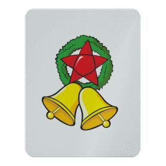 Custom Merry Christmas Star Lantern Invitation