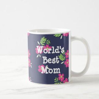 Custom Message Bright Flower Mug