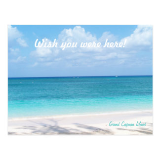 Custom Message Grand Cayman Island Postcard