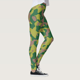 Custom Military Camouflage Style 1 leggings