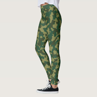 Custom Military Camouflage Style 2 leggings