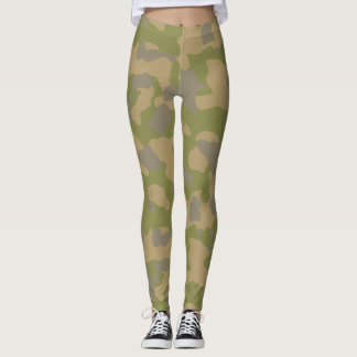 Custom Military Camouflage Style 3 leggings