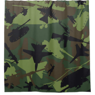 Custom Military Style Camouflage Pattern