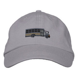 Custom Mini Bus Shuttle Embroidery Embroidered Hat