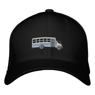 Custom Mini Bus Shuttle Large Embroidery Embroidered Hat