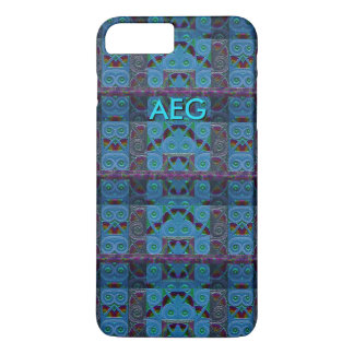 Custom Minoan Floral iPhone Case