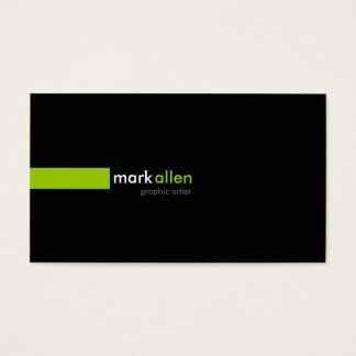 Custom Modern 519 Business Card