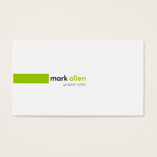 Custom Modern 519B Business Card