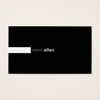 Custom Modern 519e Business Card