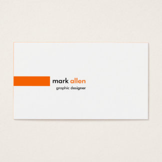 Custom Modern 520 Business Card