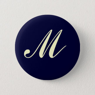 Custom Monogram Button