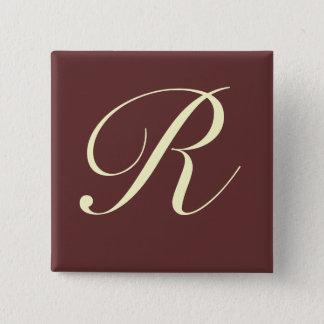 Custom Monogram Button - Customized