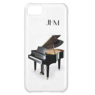 Custom Monogram Classical Music Grand Piano iPhone 5C Cover