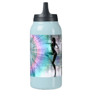 Custom Monogram Fantasy Gem Thermal Bottle