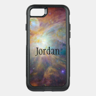Custom Monogram Galaxy OtterBox Commuter iPhone 8/7 Case