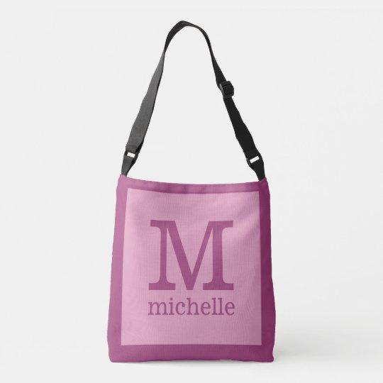 Custom Monogram, Name & Image student bags