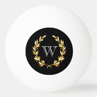 Custom Monogram Ping Pong Ball