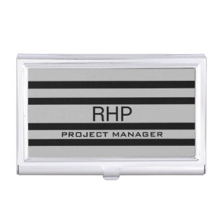 Custom Monogrammed Business Card Holder