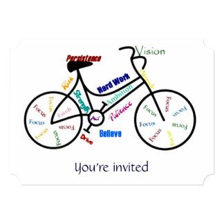 Custom Mother's Day Fundraising Bike Event Invite