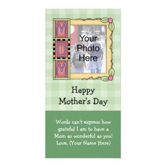 Custom Mother's Day Photo Cards