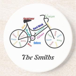 Custom Motivational Bike, Cycle, Sport Coaster