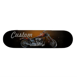 Custom Motorcycle Skateboards
