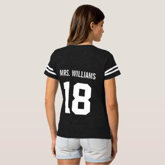 Custom Mrs. Last Name Athlete Tshirt