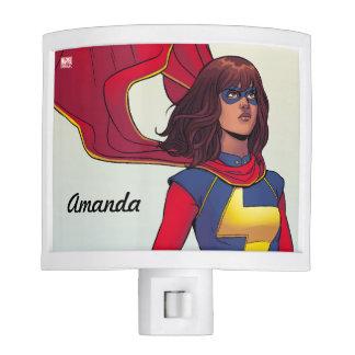 Custom Ms. Marvel Comic #3 Night Lites
