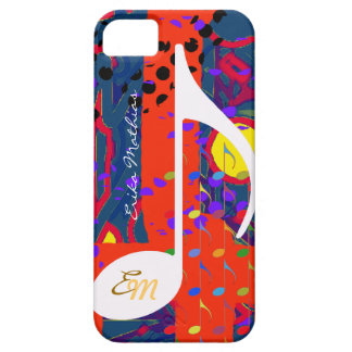 custom musical note colors case for the iPhone 5