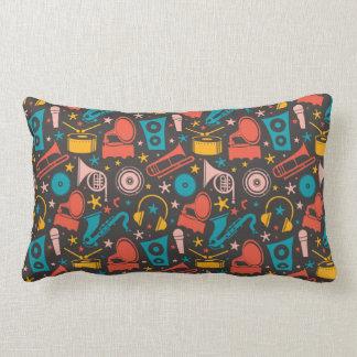 Custom Musical Throw Pillow