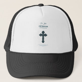 Custom Name & Anniversary Year Ordination, Priest Trucker Hat