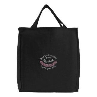 CUSTOM NAME - Best Goddaughter Ever Bags